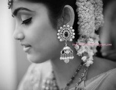 Navaratna jhumki earrings