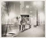 Milk Cart in a pea soup fog at Martin Place, 6.25 a.m. Wed 18 May 1949.