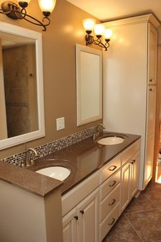 Cultured Marble Vanity Tops Design Ideas, Pictures, Remodel, and Decor