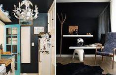 Image result for black walls