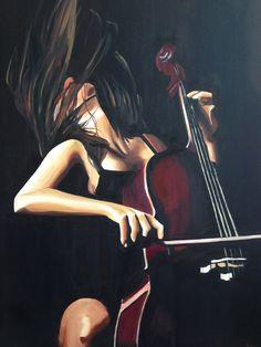 Melodi (Melody) by Esen Topraklı | #yagliboya #sanat #resim #eser #tablo #music #arte #kunst