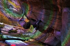 Bouldering in Norway, Hoffmann style :) Rock climbing, bouldering, Harbak. Never take beta from machine elves and crux moves are next to impossible while experiencing ego death :)