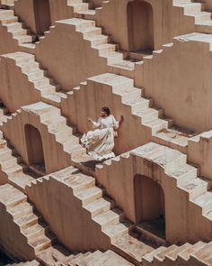 India is a visual delight! Whenever I visit somewhere so beautiful I almost get anxiety about capturing it all. The stepwells here are a… Jaipur Travel, India Travel, World Clipart, Jantar Mantar, Indian Architecture, Exploration, Wanderlust, Cities, Incredible India