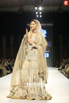 Pakistani Weddings — Umer Sayeed Couture at Fashion Pakistan Week 2015