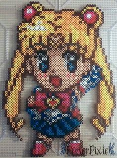 Sailor Moon perler beads by PerlerPixie on deviantART