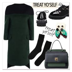 """""""It's Time to Treat Yo'Self!"""" by paculi ❤ liked on Polyvore featuring vintage and treatyourself"""