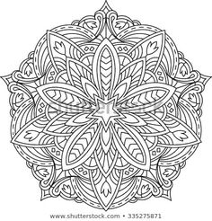 Find Abstract Vector Black Lace Design Mono stock images in HD and millions of other royalty-free stock photos, illustrations and vectors in the Shutterstock collection. Thousands of new, high-quality pictures added every day. Mandala Coloring, Colouring Pages, Adult Coloring Pages, Coloring Sheets, Coloring Books, Mandala Pattern, Mandala Design, Rose Tattoo On Hip, Arts And Crafts Interiors