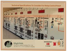 Technical Specifications To Consider For #Relay #Control #Panel