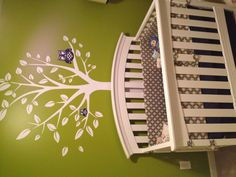 Woodlands baby boy nursery