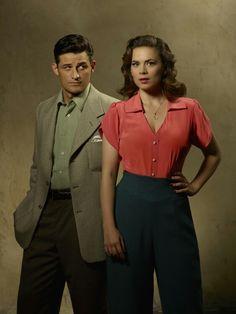 Daniel Sousa & Peggy Carter