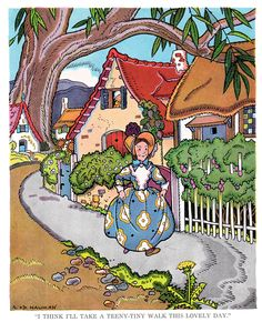 "https://flic.kr/p/npZ8jB | A teeny-tiny walk | ""Stories That Never Grow Old"" Star Edition edited by Watty Piper, illustrated by George and Doris Hauman.  Copyright 1938 by The Platt and Monk Co., Inc.  ""The Little Engine That Could"" came from ""The Pony Engine"" by Mabel C. Bragg.  I have seen other books of this name with a different front cover."