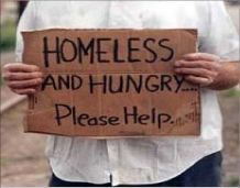 """Feeding The Homeless   ... Feeding the Homeless for Jesus,"""" a ministry that she runs out of her"""