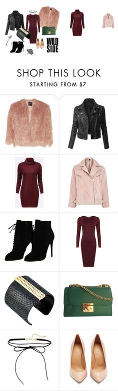 """""""rock"""" by edith-or on Polyvore featuring Theory, LE3NO, Topshop, Tom Ford, WearAll, The Sak, Gucci and Maison Margiela"""