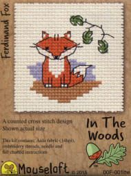 Mouseloft In The Woods Counted Cross Stitch Kit - Ferdinand Fox
