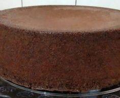 Pão de ló de chocolate fácil e rápido