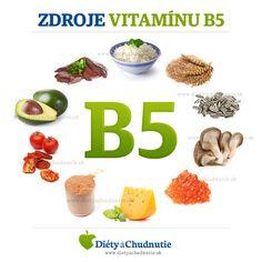 Zdroje vitamínu B5 #Zdravie #ZdravaVyziva