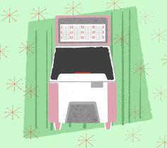 Decades: The 50s #jukebox  #makearteveryday from @bardotbrush  #seitenweise #sketch #sketchbook #instasketch #urbansketching #usk #vienna #artjournal #visualjournal #instadraw #drawingonlocation #skizzenbuch #skizzen #uskathome #procreate #procreatesketch #bardotbrush #retrosupply #retroillustration #50s #1950s #midcentury #midcenturyillustration #illustration Retro Illustration, Urban Sketching, Make Art, Jukebox, Vienna, 1950s, My Arts, Mid Century, Sketches