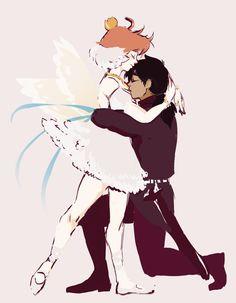 Princess Tutu and Fakir Princess Tutu Anime, Princesa Tutu, Manga Anime, Kaichou Wa Maid Sama, Romantic Couples, Anime Shows, Anime Art Girl, Magical Girl, Anime Couples