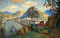 View of Salzburg - Konstantin Gorbatov