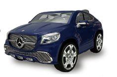 Auto elettrica per bambini Mercedes Benz Coupè 12V a due posti blu Biemme - 1033-BL