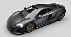 The McLaren Special Operations Carbon Series LT is a special version of the 675LT Spider supercar.