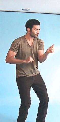 His white boy dance moves are on point . | Tyler Hoechlin Is The Hottie Dork You've Been Waiting For