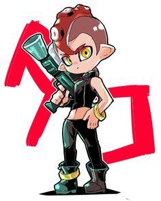 埋め込み Nintendo Splatoon, Splatoon 2 Art, Splatoon Comics, Splatoon Costume, Family Cosplay, Fanart, Video Game Art, Geek Culture, Zelda