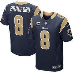Cheap NFL Jerseys - Nike St. Louis Rams #39 Steven Jackson White Elite Jersey | NFL St ...