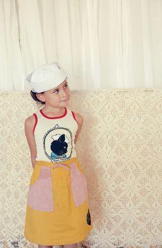 Misha Lulu Summer/13  Nino Ponte/Deck Skirt