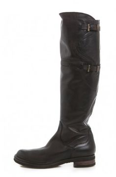 Alberto Fermani Two Buckle Knee Boot - these boots are so awesome.
