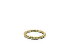 MATERIALE ELLER FARVE Forgyldt STØRRELSE 52 Valgte produkt: r-505-gp-52 Mini Silver Pearl Ring size 55