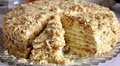 """Cake """"Minute"""" without baking Ingredients: For cake: 3 tbsp. 1 Bank of condensed milk; of baking soda (to repay vinegar). Russian Cakes, Russian Desserts, Portuguese Recipes, Russian Recipes, Cheesecake Recipes, Dessert Recipes, Easy Cake Decorating, Food Cakes, Baking Cakes"""