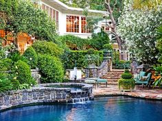 This California European Country style home is a rare beauty, perfect for nature lovers. http://blog.homes.com/2012/11/twilight-breaking-dawn-pt-2-inspired-luxury-homes/#