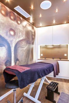 R novation totale d 39 un salon de coiffure paris cabine - Decoration salon de coiffure et d esthetique ...