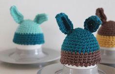 crochet rabbit egghats