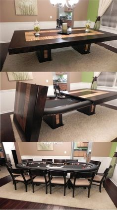 Just too cool - wonder if I could do that to our poker table.....hmmmm