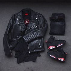 Choosing The Right Men's Leather Jackets – Revival Clothing Swag Outfits, Dope Outfits, Casual Outfits, Men Casual, Fashion Mode, Urban Fashion, Fashion Wear, Fashion Boots, Womens Fashion