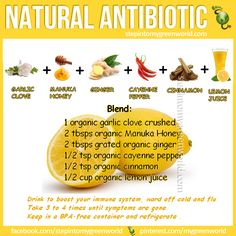 ☛ ARM yourself with this #natural #antibiotic