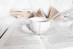 happiness is a coffee and a good book