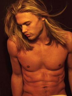 there's something about men with long hair...