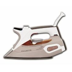 Rowenta DW9080 Steamium 1800-Watt Steam Iron with 400-Hole Platinum Soleplate...I absolutely love mine and quality is excellent since it is made in Germany.