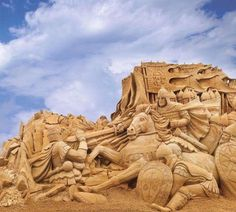 Esculturas en Hielo y Arena