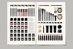 Mii - by Paul Belford Book Design, Web Design, How To Line Lips, Editorial Layout, Art Direction, Photo Wall, Advertising, Cosmetics, Frame