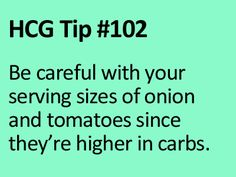 VLCD Tip for the HCG Diet! www.diyhcg.com