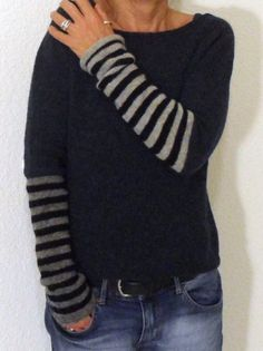 Casual Sweaters, Black Sweaters, Casual Shirts, Pull Gris, Okapi, Beltane, Casual Tops For Women, Long Sleeve Sweater, Sweater Jacket
