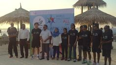 China's World Table Tennis champion Jiang Jialiang in Maldives for 24 hours Table Tennis marathon to celebrate World Table Tennis Day