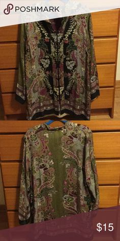 Tapestry style jacket with flower pattern Women's vintage tapestry flower jacket Jackets & Coats