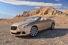 My favorite car, 2013 Bentley Continental GT Speed Convertible