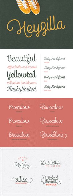 Heyzilla is a multipurpose script font that suitable for any kind of project. It…