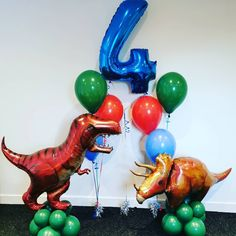 "Oursweetdreamballoons on Instagram: ""#dinosaurparty #dinosaurballoon #kidspartyideas #lanarkshire #wishaw"" Thomas Birthday, Dinosaur Birthday Party, Birthday Party Themes, Boy Birthday, Birthday Ideas, T Rex Cake, Dinosaur Balloons, Mermaid Party Decorations, Balloon Bouquet"